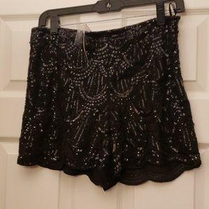 Flashy shorts